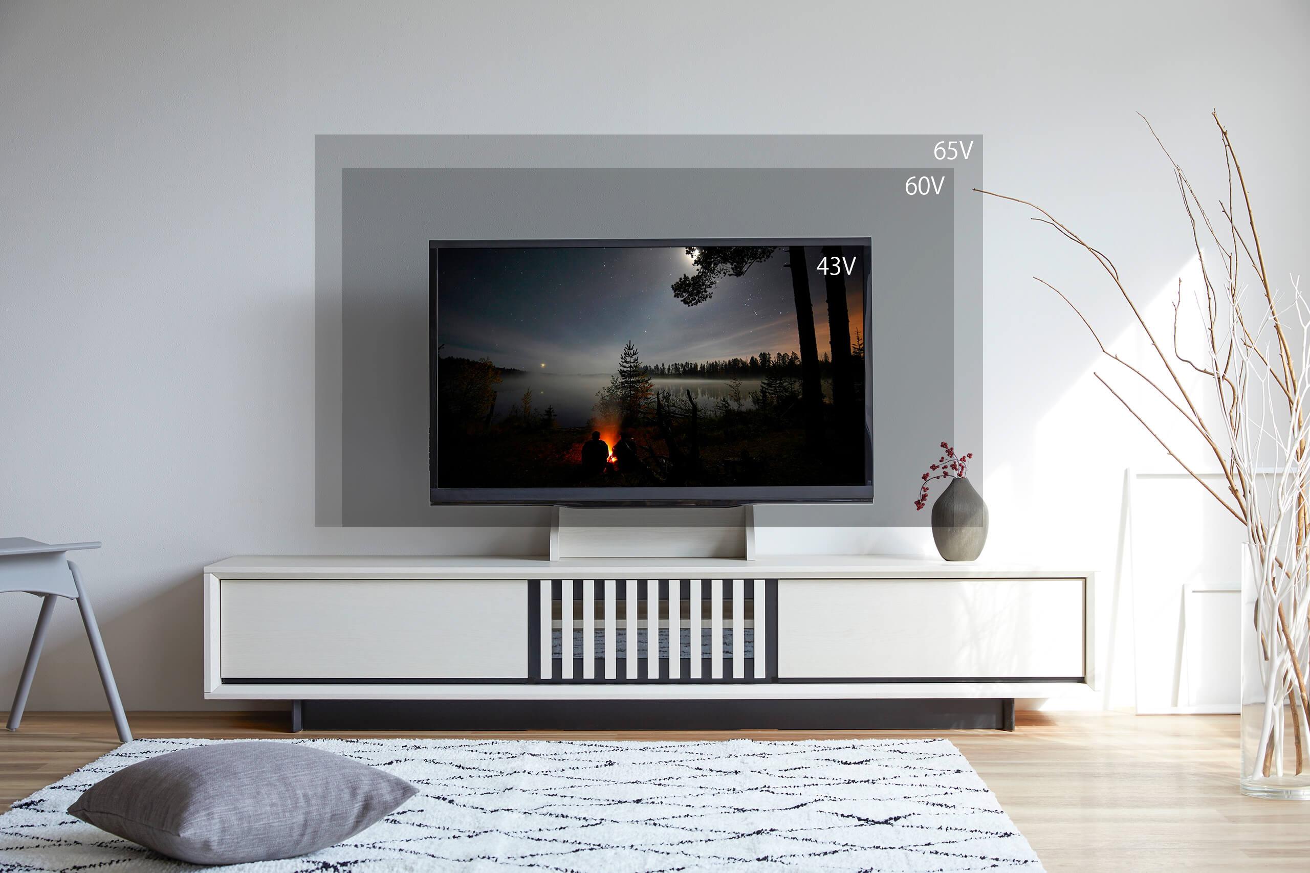 【tips】テレビ台サイズの選び方