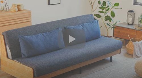 『らくらくカバー』の商品説明動画を公開しました